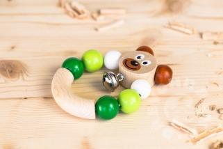 Chrastítko medvěd zelené