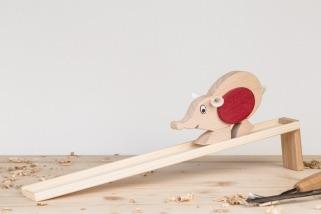 Myš s dráhou