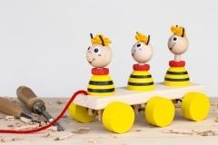 Včelky na tahání