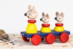 Myšky na tahání