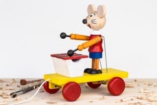 Myška s xylofonem