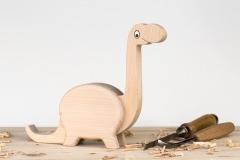 Pokladnička brontosaurus
