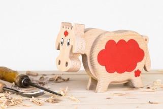 Pokladnička kráva barevná