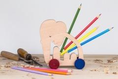 Stojánek na tužky slon
