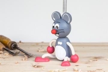 Myška na pružině