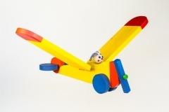 Velké letadlo s pilotem - létací