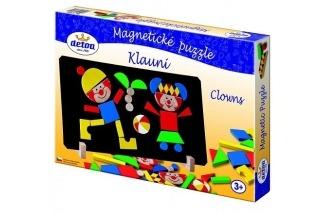 Magentické puzzle klauni