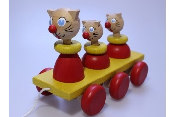 Kočky na tahání