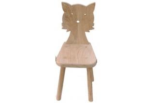 Dětská židle - kočka