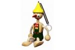 Pinochio na pružině