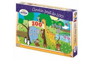 Hra pro děti - Člověče pojď do ZOO.