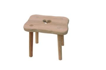 Stolička z masivu - dojačka