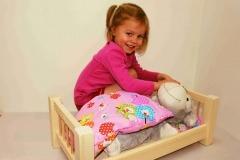 Velká postýlka pro panenku