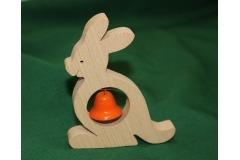 Dřevěná hudební hračka klokan