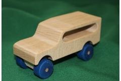 Dřevěné auto