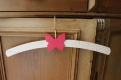Dětské ramínko s motýlem
